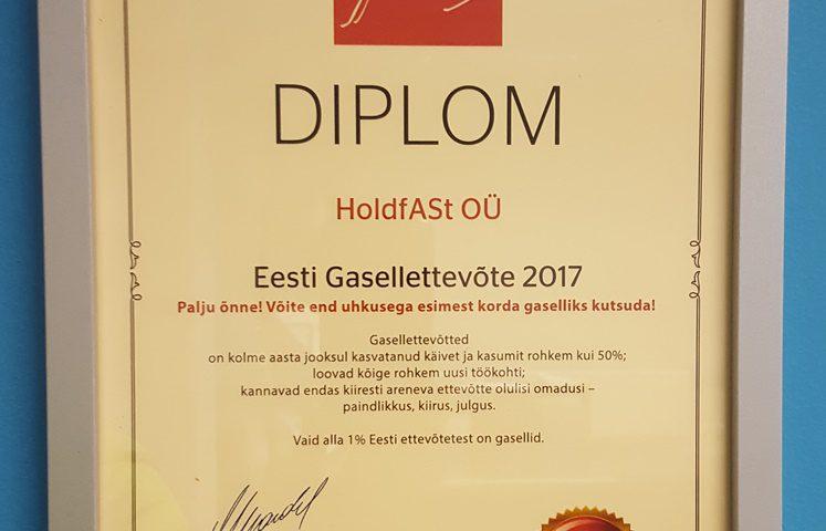 Estonian Gazelle Enterprise 2017